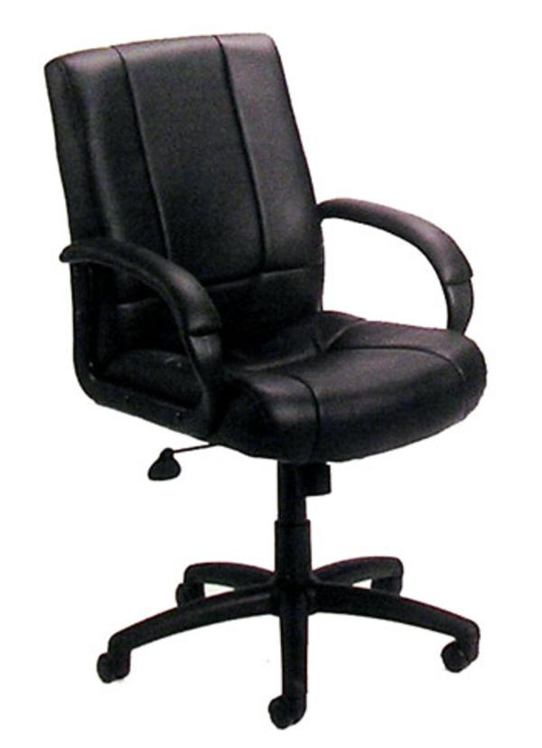 Hoppers Office Furniture Swivel Mid Back Chair