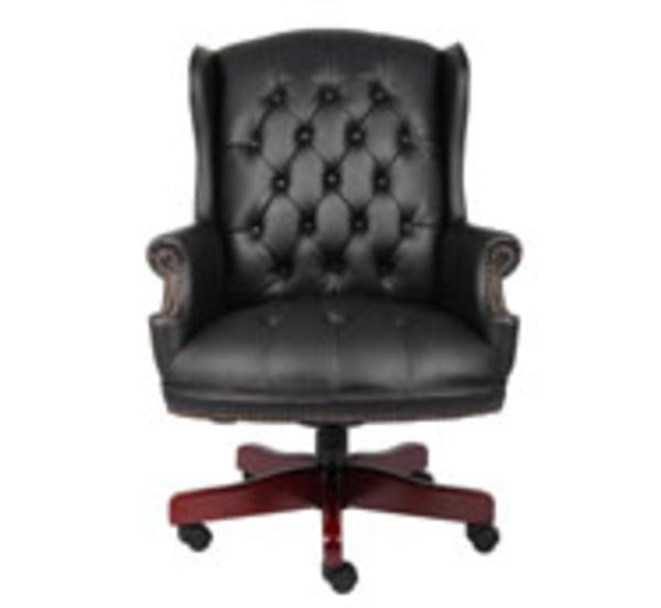 Hoppers Office Furniture Traditional High Back Executive
