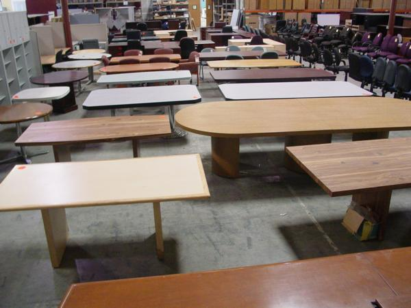Hoppers Office Furniture Used Conference Tables - Office max conference table