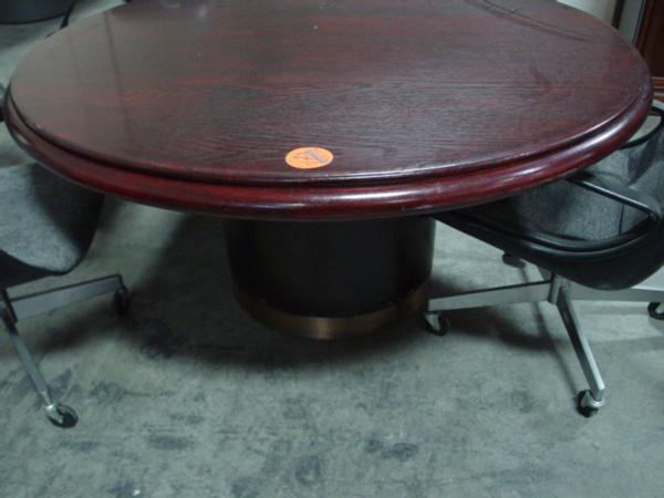 Hoppers Office Furniture Round Conference Table - 60 round conference table