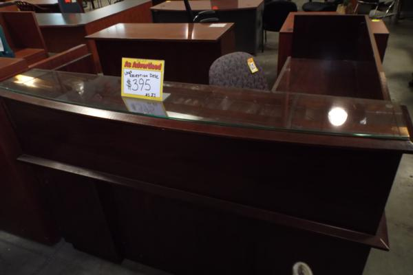 Hoppers Office Furniture Used Reception Desks