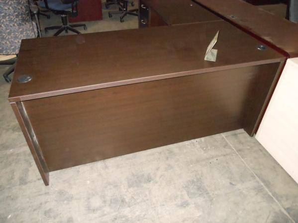 Hoppers Office Furniture Laminate L Shape Desk