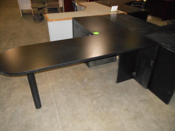 Hoppers Office Furniture Used L Shape Bullet Desk