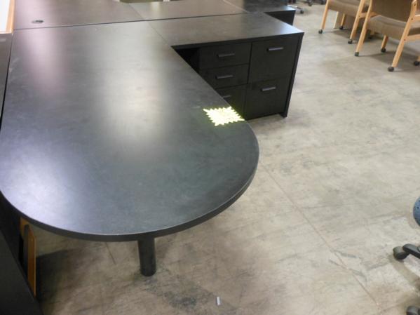 Hoppers Office Furniture Used L Shape Desk
