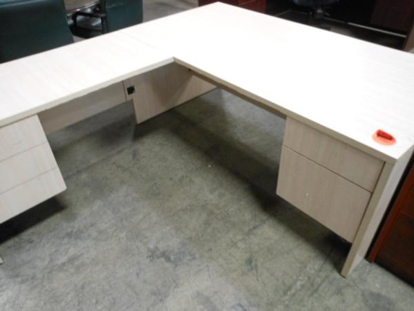 Hoppers Office Furniture Used Executive L Shape Desk