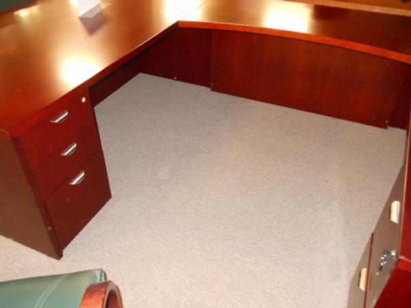 Hoppers Office Furniture Mayline Mira U Shape Executive Desk