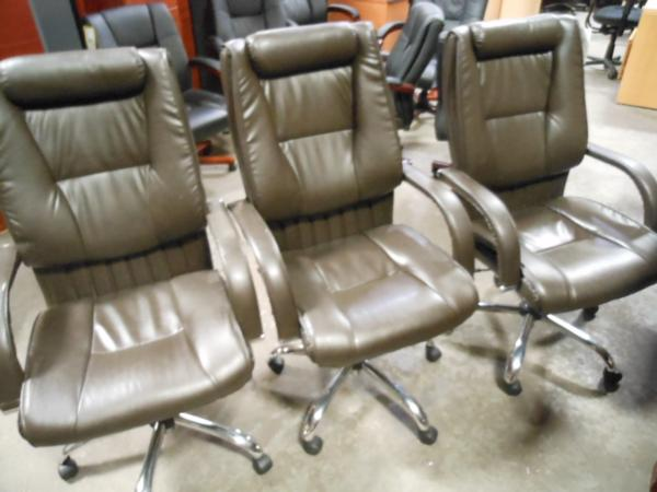 Hoppers Office Furniture High Back Leather Conference Chairs