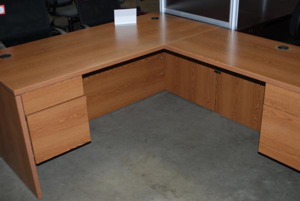 Used HON L Shape Desk