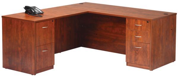 Laminate L Shape Secretary Desk Item 5