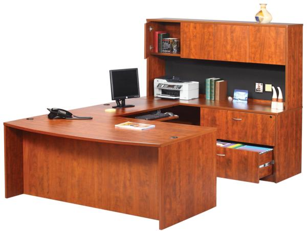Hoppers office furniture executive ushape laminate work for Good office furniture