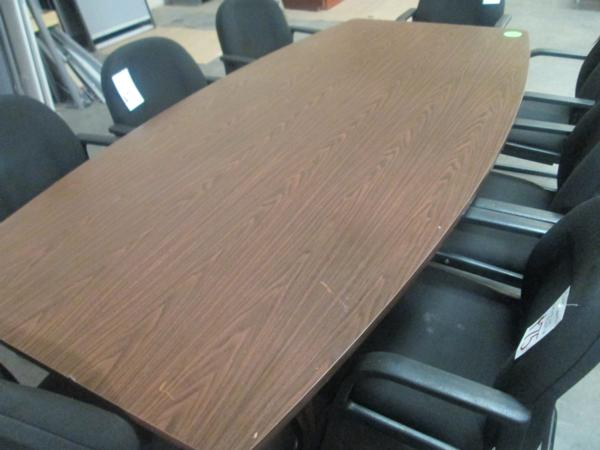 Hoppers Office Furniture Used Laminate 8 39 Conference Table