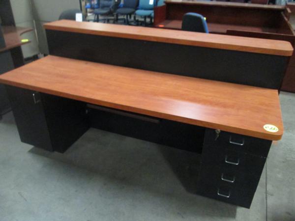 Hoppers Office Furniture Large Reception Desk