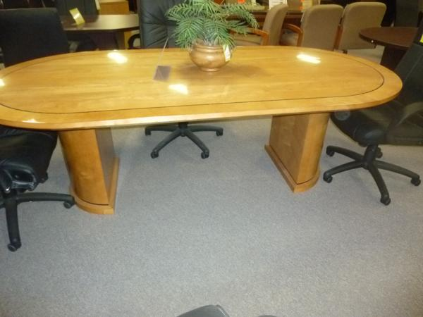 Hoppers Office Furniture High Gloss Conference Table