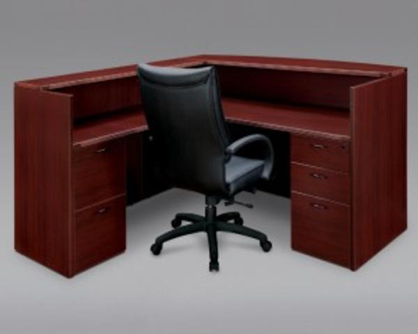 Hoppers Office Furniture Laminate Reception Desk By Dmi